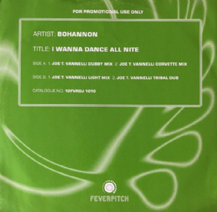 "Hamilton Bohannon - I Wanna Dance All Nite (12"") (Promo) (VG-/VG-)"